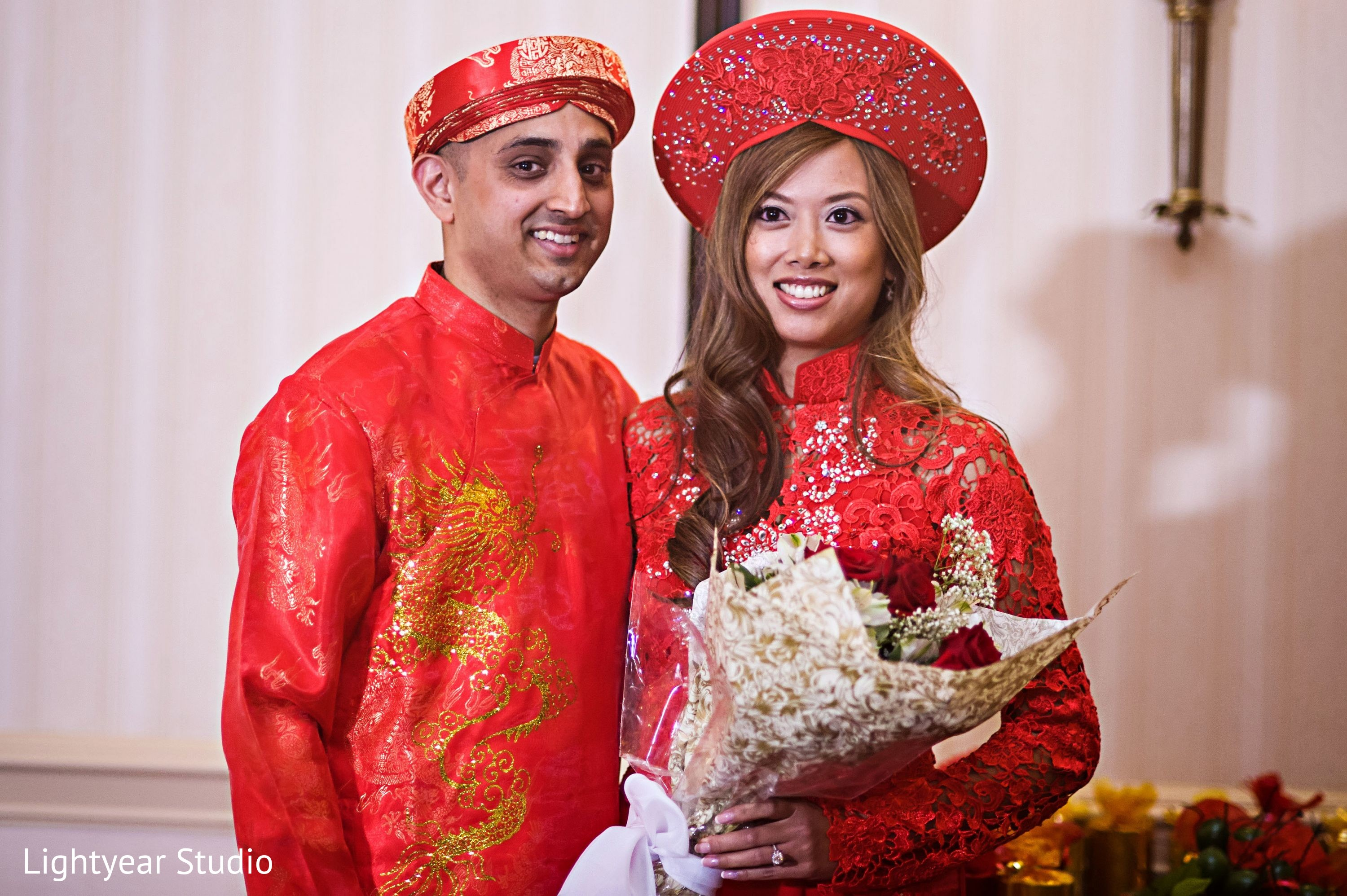 Vietnamese Wedding. . Tea Ceremony Family Photo. Day Fusion Wedding ...