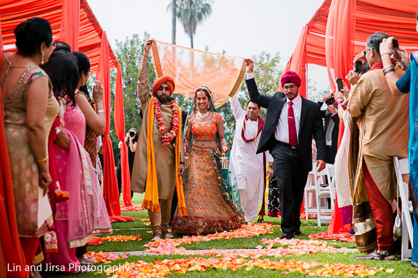 Hindu Ceremony in Pasadena, CA Indian Wedding by Lin and Jirsa Photography