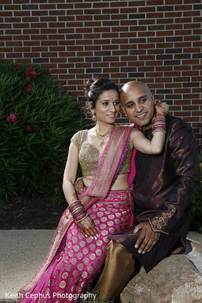 Sangeet in Norfolk, VA Indian Wedding by Keith Cephus Photography