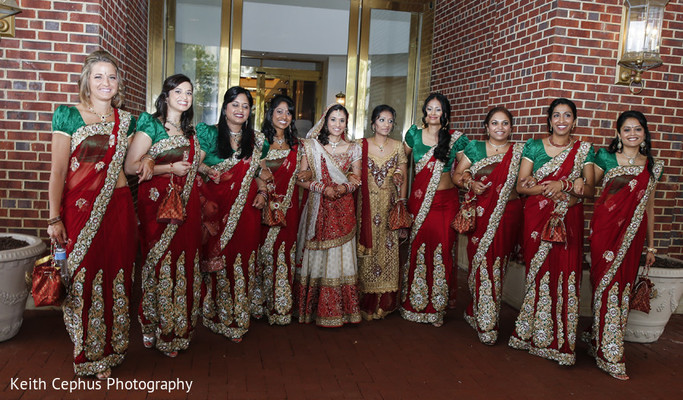 Bridal Fashions in Norfolk, VA Indian Wedding by Keith Cephus Photography
