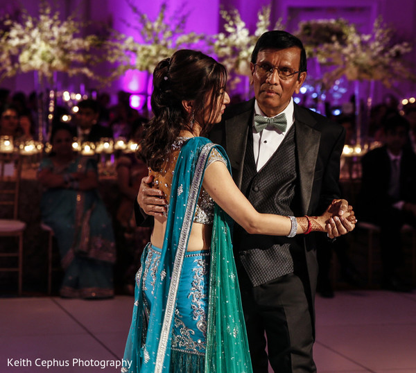 indian wedding reception,indian wedding dance,father daughter dance,indian wedding photography,indian wedding reception photos