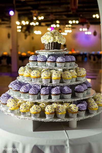 Cakes and treats in Dallas, TX Indian Wedding by MnMfoto