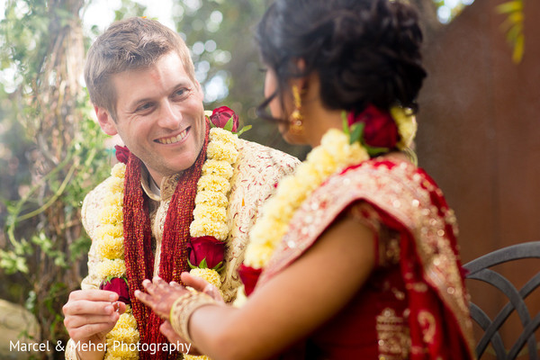 Ceremony in Healdsburg, CA Indian Wedding by Marcel & Meher Photography