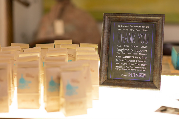 Favors in Healdsburg, CA Indian Wedding by Marcel & Meher Photography