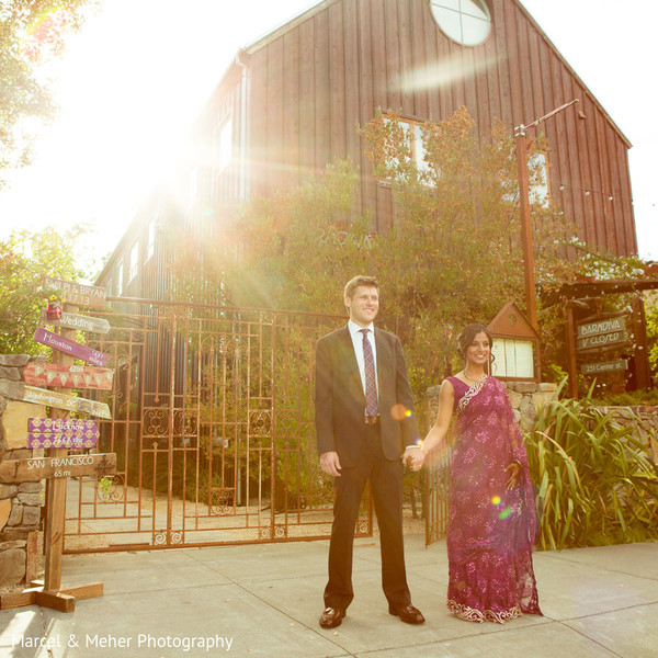 Portraits in Healdsburg, CA Indian Wedding by Marcel & Meher Photography