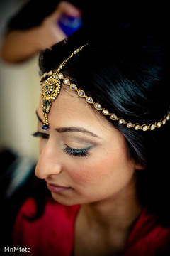 An Indian bride gets ready for her big day!