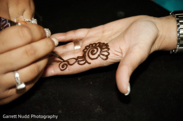 Mehndi designs in Miami Beach, FL Indian Wedding by Garrett Nudd Photography