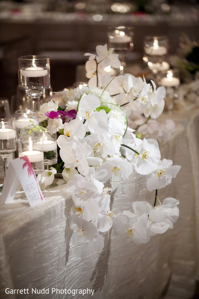 Reception in Miami Beach, FL Indian Wedding by Garrett Nudd Photography