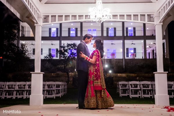 Reception in Boerne, TX Indian Wedding by MnMfoto