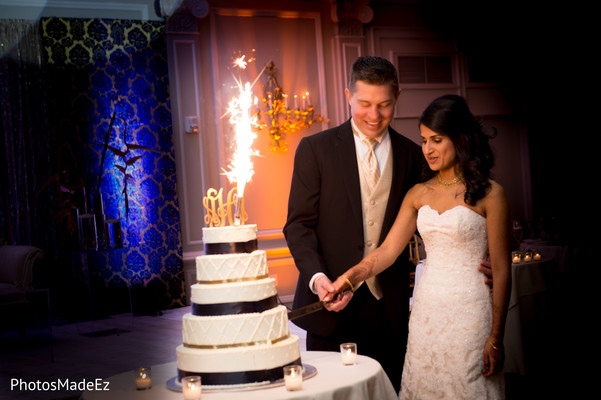 Cakes and treats in Morristown, NJ Indian Fusion Wedding by PhotosMadeEz