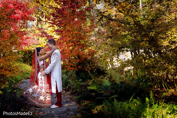 Portraits in Morristown, NJ Indian Fusion Wedding by PhotosMadeEz