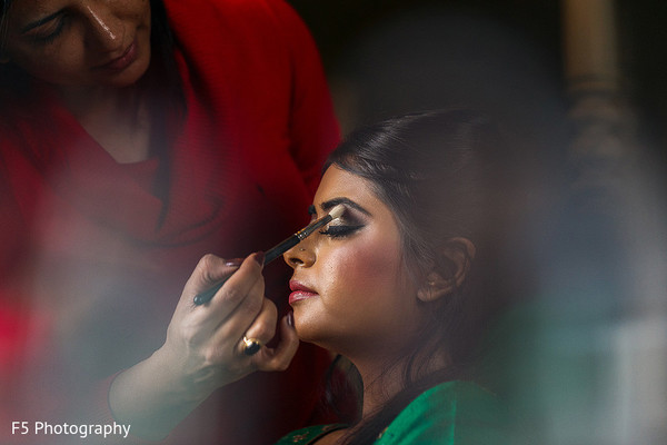 Hair & Makeup in Hertfordshire‎, England Indian Wedding by F5 Photography