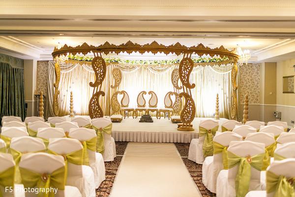 Wedding Mandap Decoration Ideas: Hertfordshire, England Indian Wedding By F5 Photography