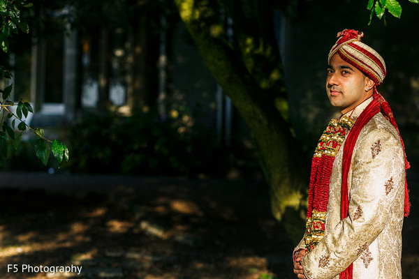 Groom Fashion in Hertfordshire‎, England Indian Wedding by F5 Photography