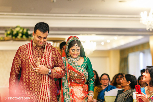 Ceremony in Hertfordshire‎, England Indian Wedding by F5 Photography