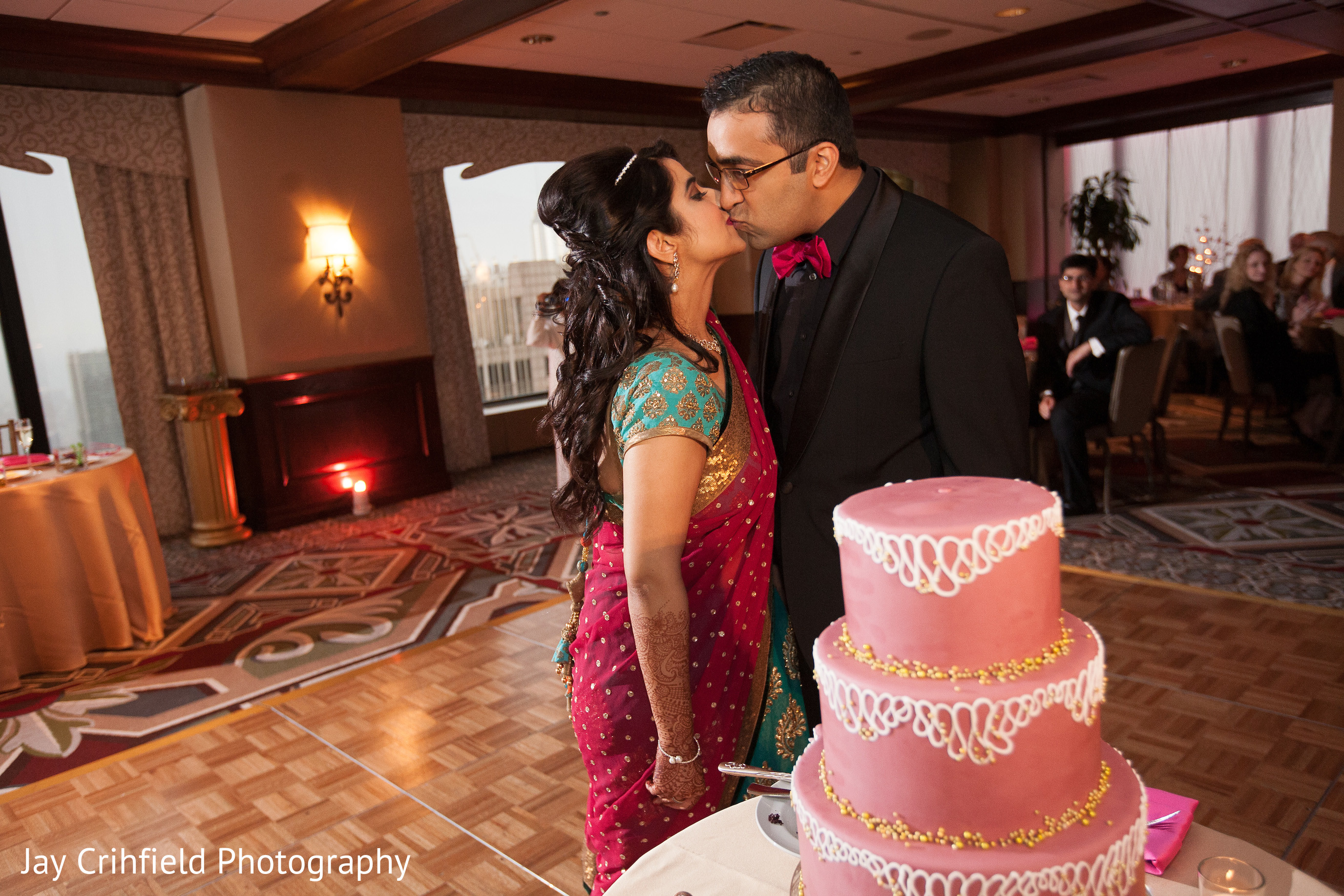 Reception In Chicago IL Indian Wedding By Jay Crihfield