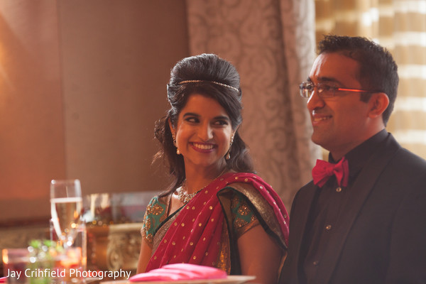 Reception in Chicago, IL Indian Wedding by Jay Crihfield Photography