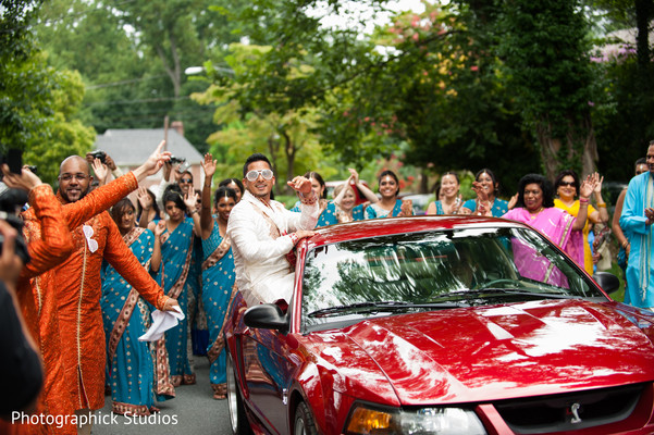 Baraat in Silver Spring, MD Indian Wedding by Photographick Studios