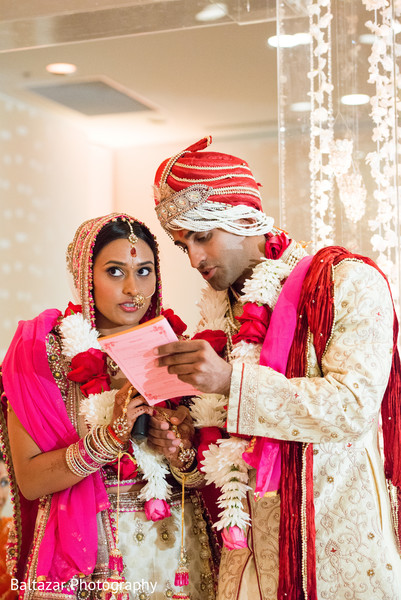 Ceremony in Arlington, VA Indian Wedding by Baltazar Photography