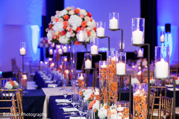 Reception in Arlington, VA Indian Wedding by Baltazar Photography