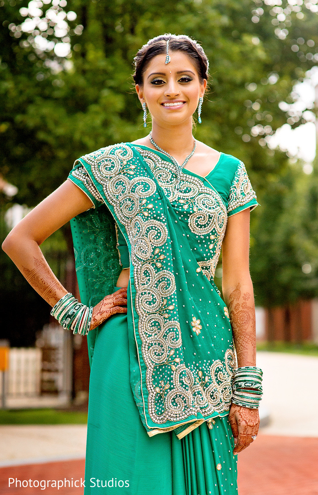 Baltimore, MD Indian Wedding by Photographick Studios