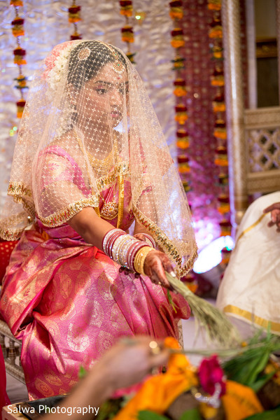 Ceremony in Flushing, NY Indian Wedding by Salwa Photography