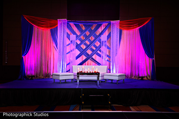Baltimore md indian wedding by photographick studios for Arangetram stage decoration ideas