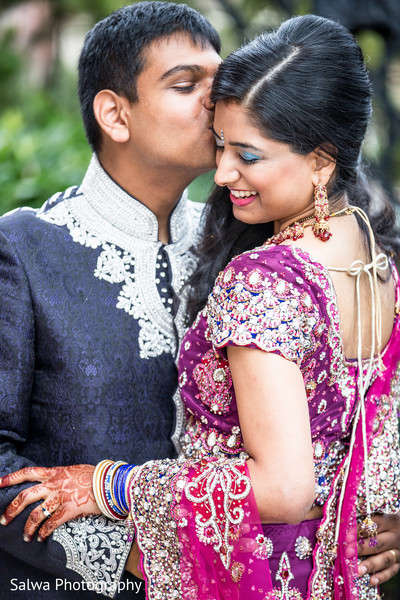 Getting Ready in Flushing, NY Indian Wedding by Salwa Photography