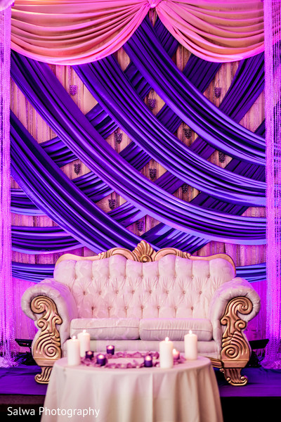Reception in Flushing, NY Indian Wedding by Salwa Photography