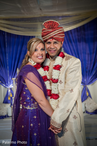 Portraits in Pittsburgh, PA Indian Fusion Wedding by Palermo Photo