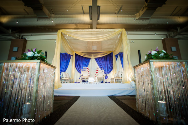 Ceremony in Pittsburgh, PA Indian Fusion Wedding by Palermo Photo