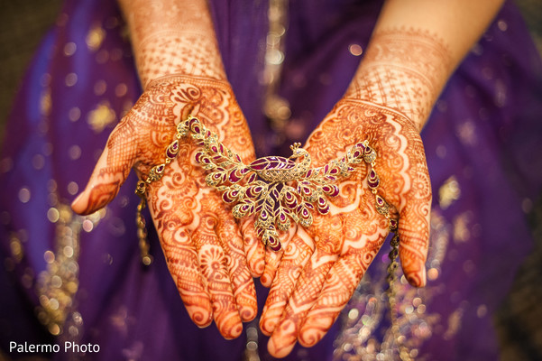 Bridal jewelry in Pittsburgh, PA Indian Fusion Wedding by Palermo Photo