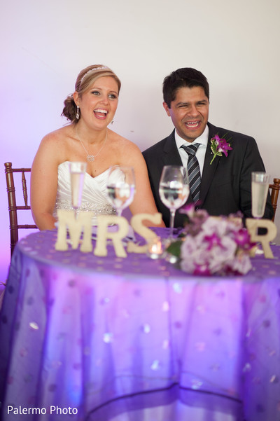 Reception in Pittsburgh, PA Indian Fusion Wedding by Palermo Photo