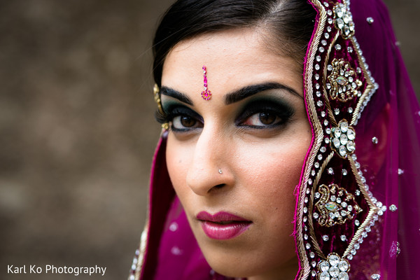 Portraits in Indian Wedding Inspiration Shoot by Karl Ko Photography