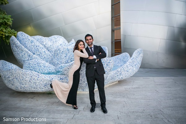 Engagement in Anaheim, CA Pakistani Wedding by Samson Productions