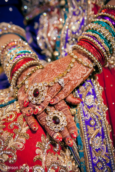 Bridal Jewelry in Anaheim, CA Pakistani Wedding by Samson Productions