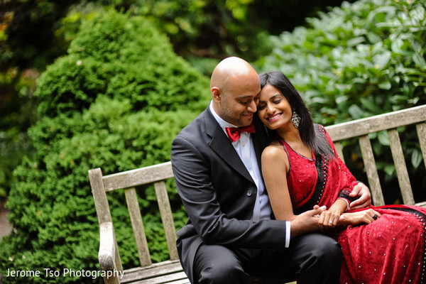 Engagement in Seattle, WA Indian Engagement by Jerome Tso Photography