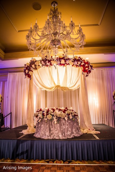 Reception in Dearborn, MI Indian Wedding by Arising Images