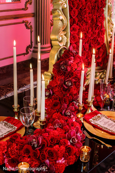Floral and decor in The New Indian Bride presented by Design House Decor