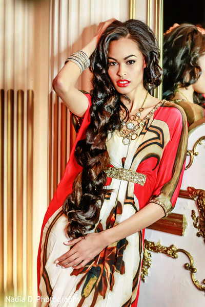 Bridal fashions in The New Indian Bride presented by Design House Decor