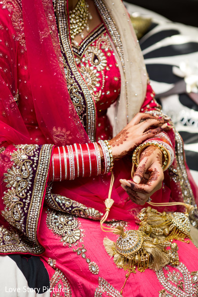 Bridal Jewelry in Sacramento, CA Indian Wedding by Love Story Pictures