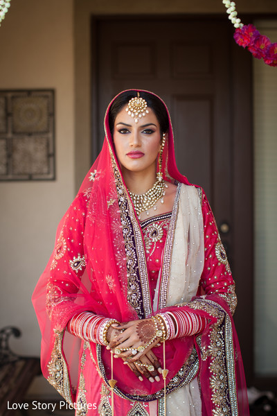 Bridal Fashions in Sacramento, CA Indian Wedding by Love Story Pictures