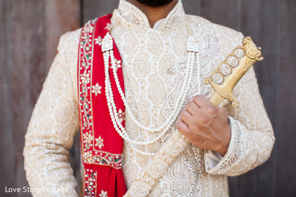 Portraits in Sacramento, CA Indian Wedding by Love Story Pictures