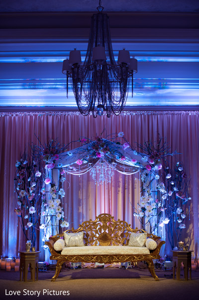 Reception in Sacramento, CA Indian Wedding by Love Story Pictures