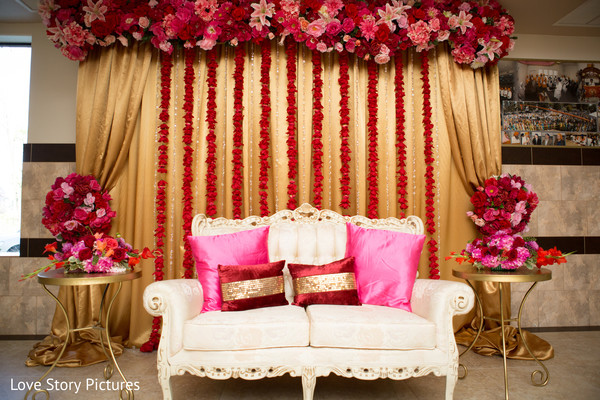 Floral & Decor in Sacramento, CA Indian Wedding by Love Story Pictures