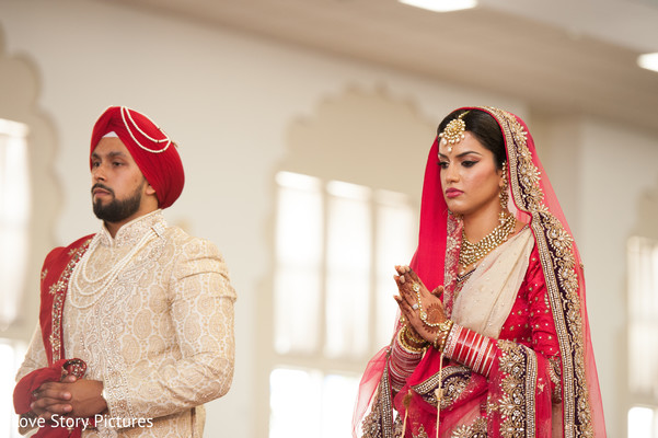 Ceremony in Sacramento, CA Indian Wedding by Love Story Pictures