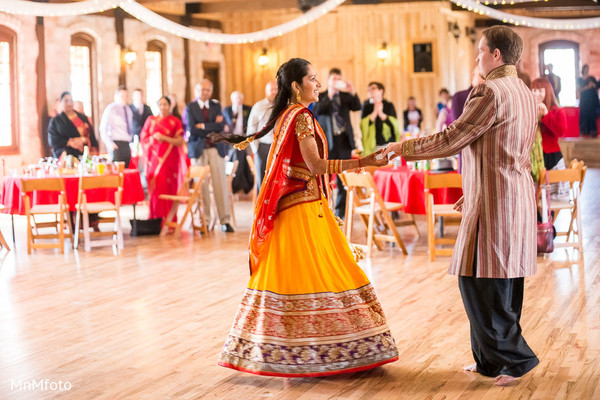 Reception in North Dallas, TX Indian Wedding by MnMfoto