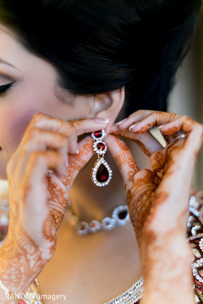Bridal Jewelry in Cerritos, CA Indian Wedding by RANDERYimagery