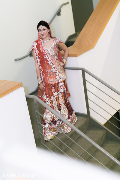 Bridal Fashions in Cerritos, CA Indian Wedding by RANDERYimagery