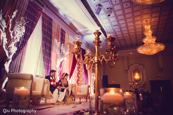 Ceremony in Ontario, Canada Pakistani Wedding by Qiu Photography